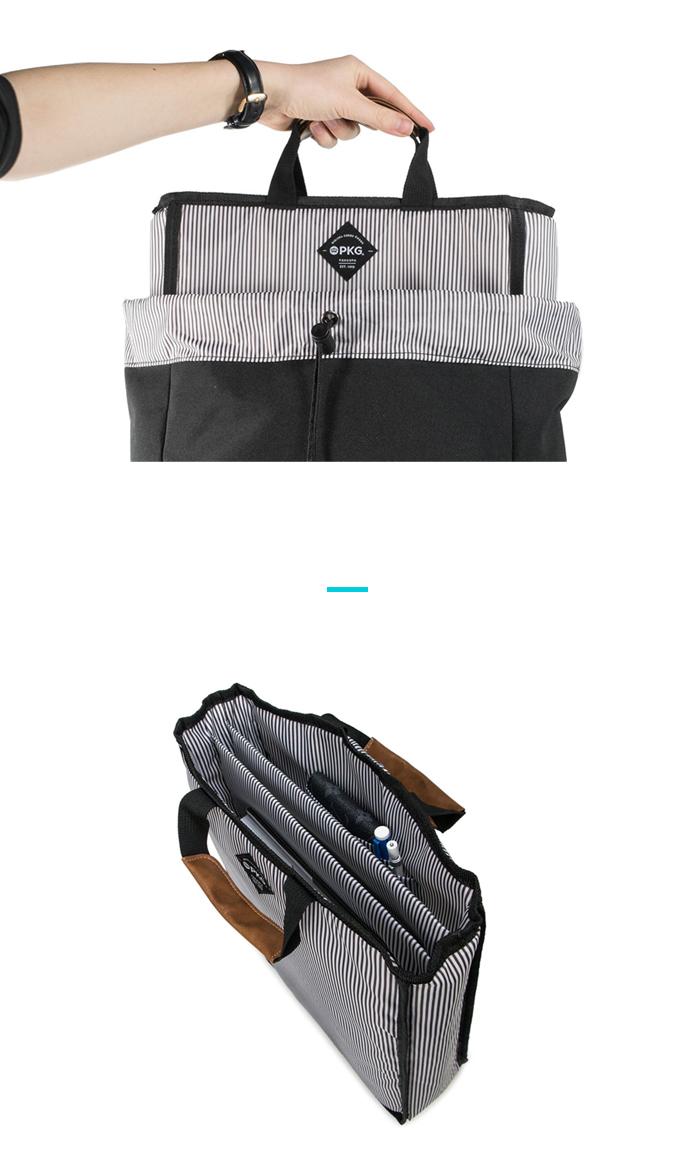 (複製)加拿大 PKG|加拿大 PKG LB08 TOTE PACK 城市戶外 手提雙肩多功能包(Light Grey)