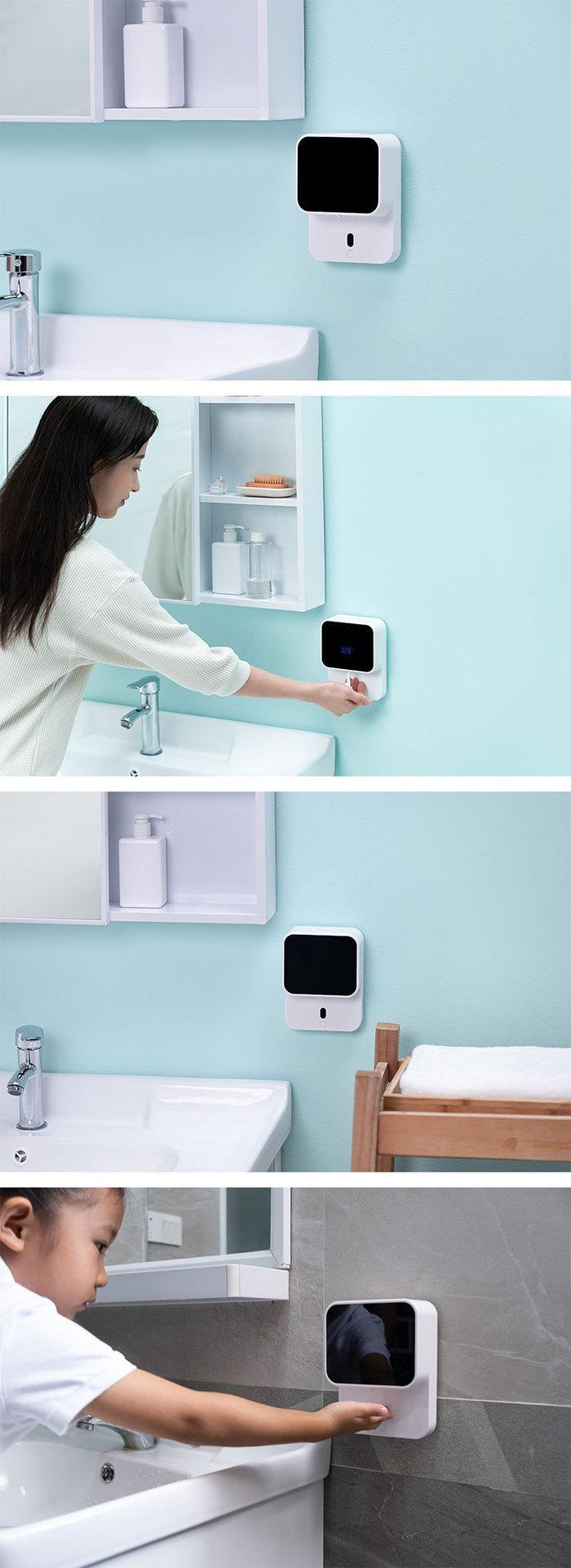Amoovars|BÜBBLA 簡約小型智能自動感應泡沫洗手器 LED 顯示