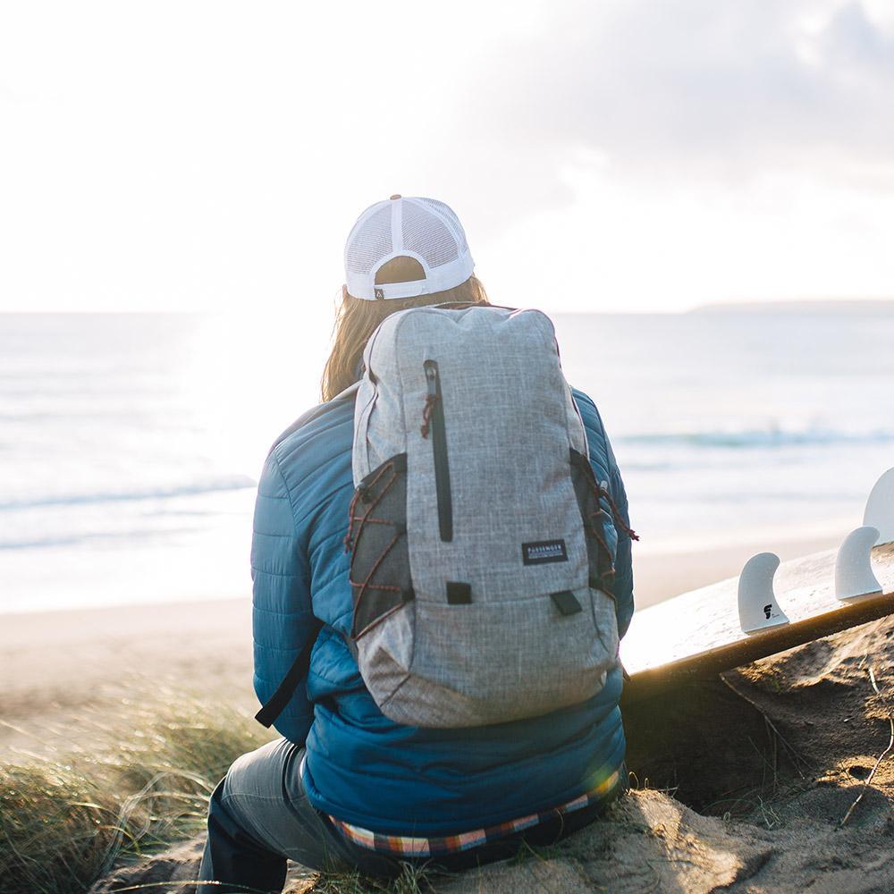 英國 PASSENGER VALE 旅行戶外多功能輕量型背包 (GREYMARL)