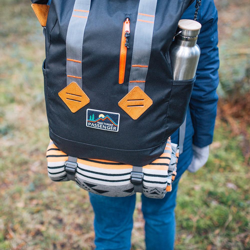 英國 PASSENGER|TRAKKER BACKPACK 旅行戶外手提雙肩 多功能輕量型背包 (BLACK)