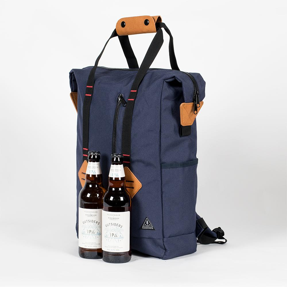 英國 PASSENGER|GOOD TIMES COOLER BACKPACK 旅行戶外手提雙肩 多功能保冷冰袋背包 (NAVY)