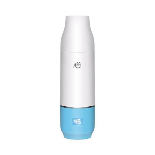 【預購】美國 jiffi|智慧恆溫奶瓶組(藍色)