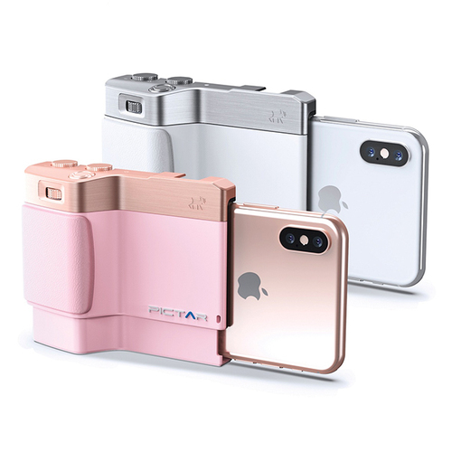 Miggo Pictar One Plus II Camera Grip 手機殼(黑) iPhone 6+/6S+/7+/8+/X/XS/XS Max/XR