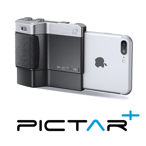 Miggo|Pictar One Plus II Camera Grip 手機殼(銀) iPhone 6+/6S+/7+/8+/X/XS/XS Max/XR