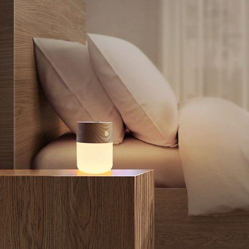 Amoovars|ALADDÍN SOL 天然原木感應香薰助眠觸控 LED燈(1入)