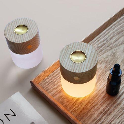 Amoovars|ALADDÍN SOL 天然原木感應香薰助眠觸控 LED燈(2入)