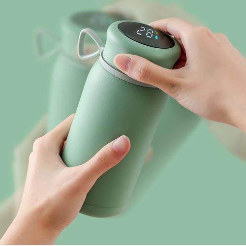 【集購】WarmKop|智慧 LED 暖手 多功能恆溫保溫瓶 (5色任選)