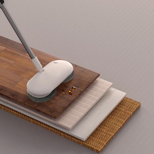 Automop|輕薄智慧手持無線擦地清潔機(加贈兩片清潔布)