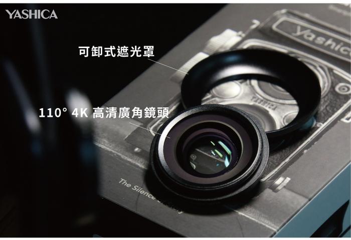 YASHICA|4K HD 2合1廣角微距手機外接鏡頭