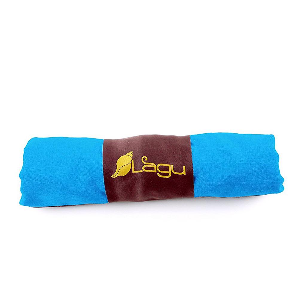 LAGU|沙灘專用快乾防沙毯 (天藍)