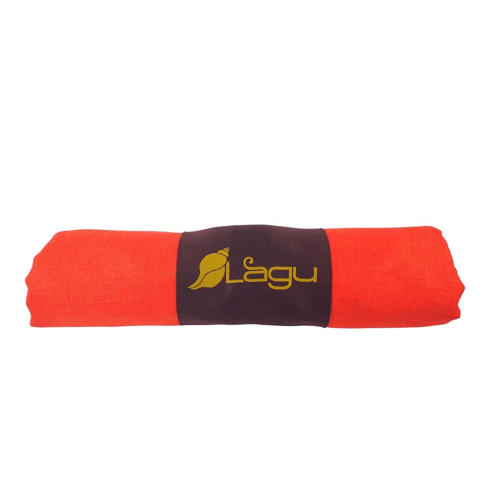 LAGU 沙灘專用快乾防沙毯 (橘色)