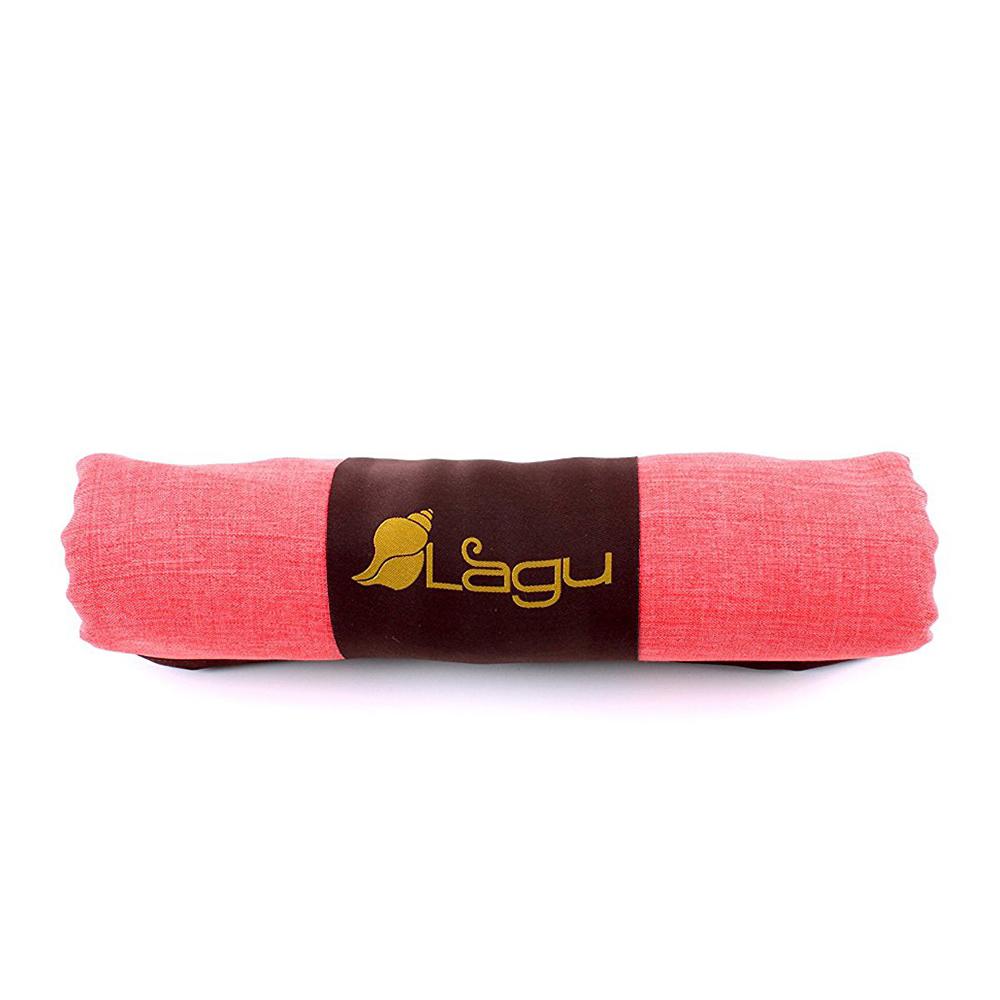LAGU|沙灘專用快乾防沙毯 (粉橘)