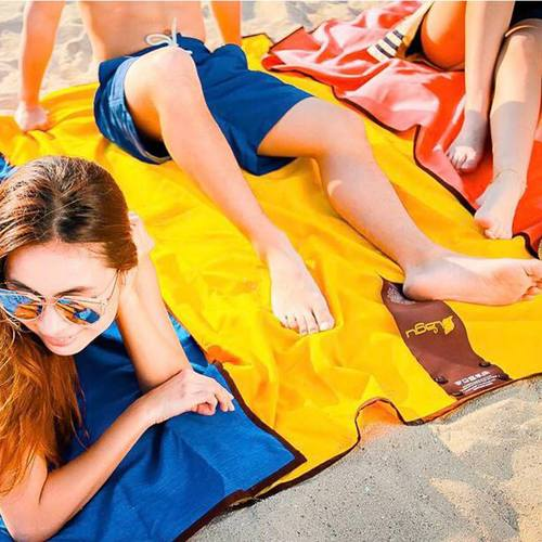 LAGU 沙灘專用快乾防沙毯 (太陽黃)