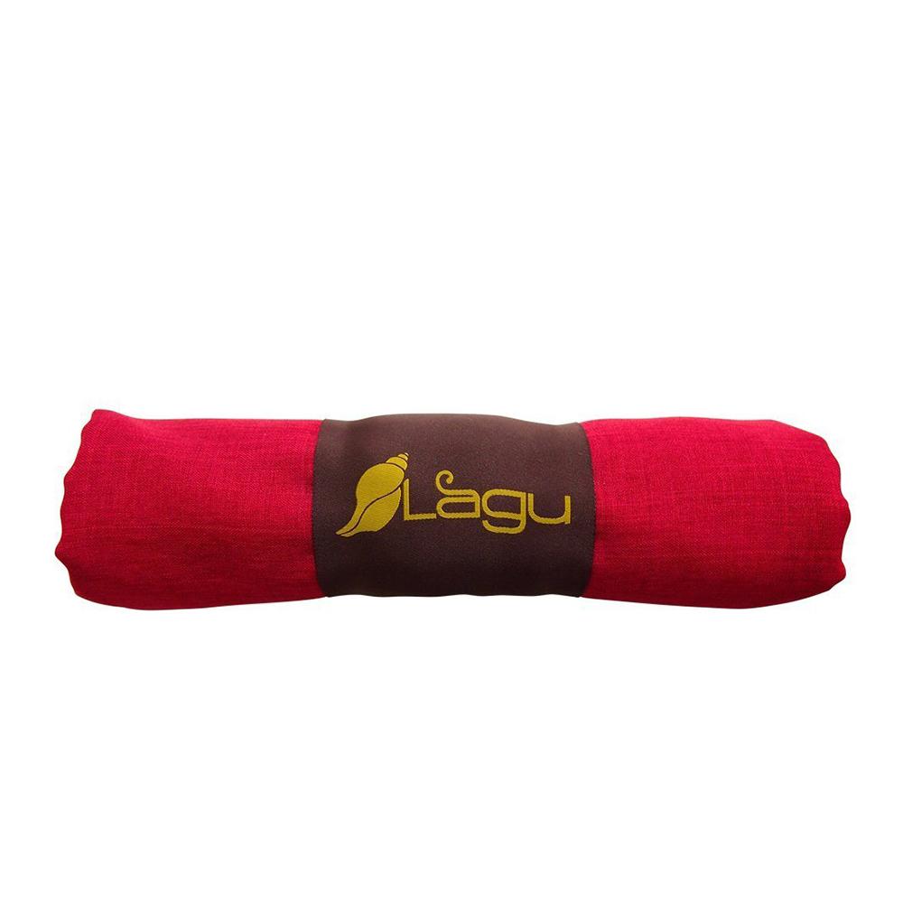 LAGU|沙灘專用快乾防沙毯 (紅色)