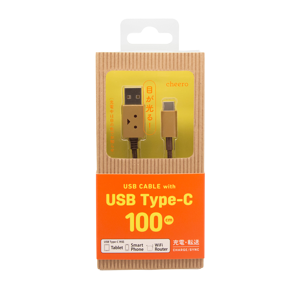 cheero | 阿愣Type-C充電線 (100公分)