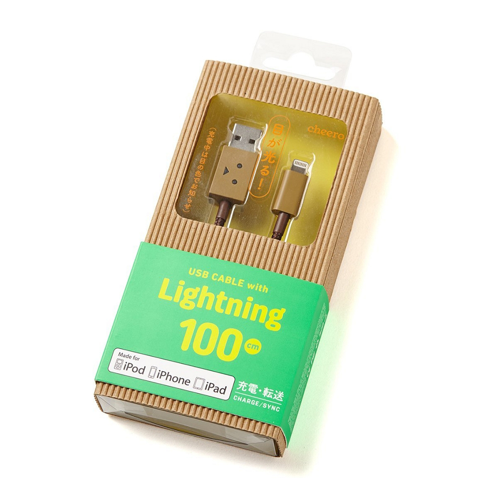 cheero | 阿愣 蘋果認證lightning USB 充電線 (100公分)