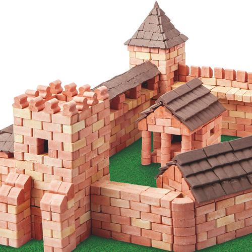 WISE ELK|天然陶瓷磚建築套裝 - 巨城 1800片