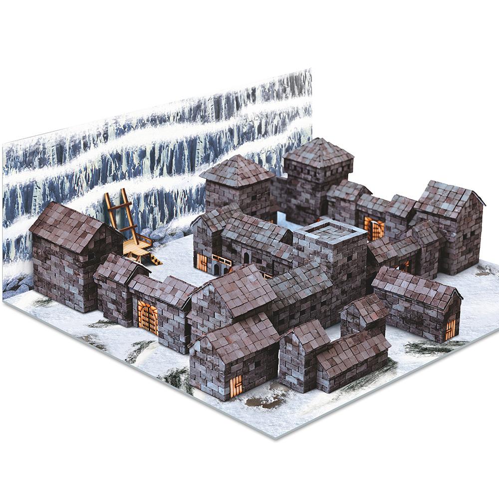 WISE ELK 天然陶瓷磚建築套裝 - 守夜黑城