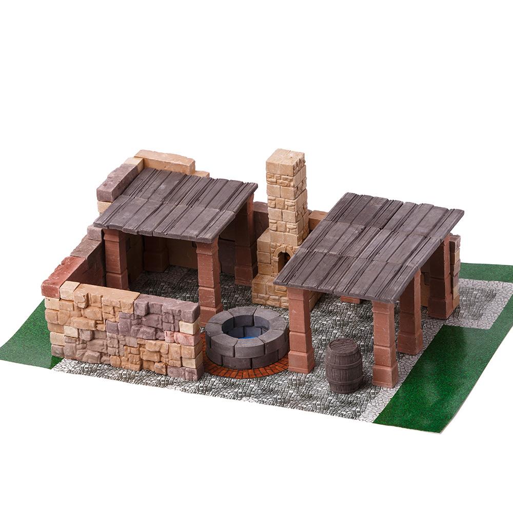 WISE ELK|天然陶瓷磚建築套裝 - 磚瓦工廠 150片