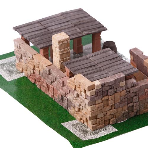 WISE ELK 天然陶瓷磚建築套裝 - 磚瓦工廠 150片
