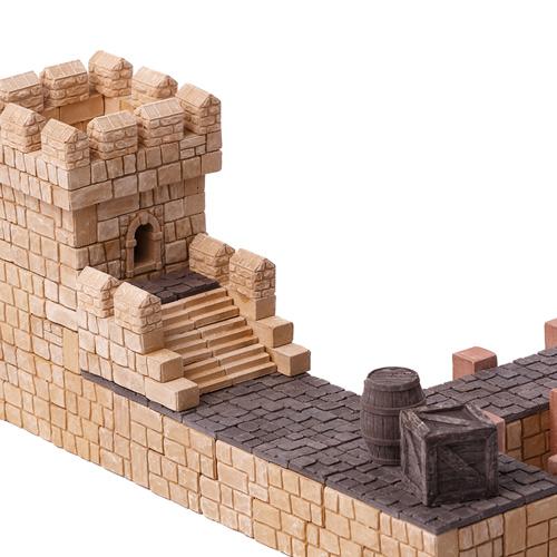 WISE ELK|天然陶瓷磚建築套裝 - 河岸碼頭 260片