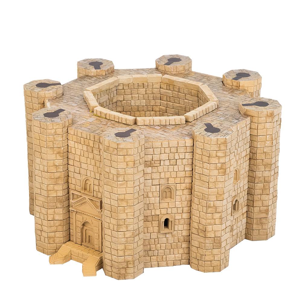 WISE ELK|天然陶瓷磚建築套裝 -  義大利蒙特城堡 1350片