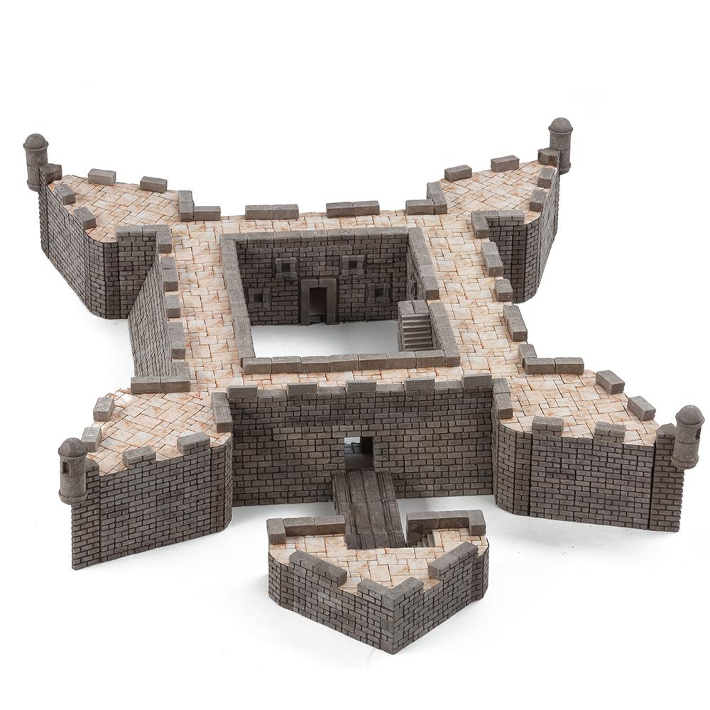 WISE ELK|天然陶瓷磚建築套裝 - 聖馬科斯堡 1650片