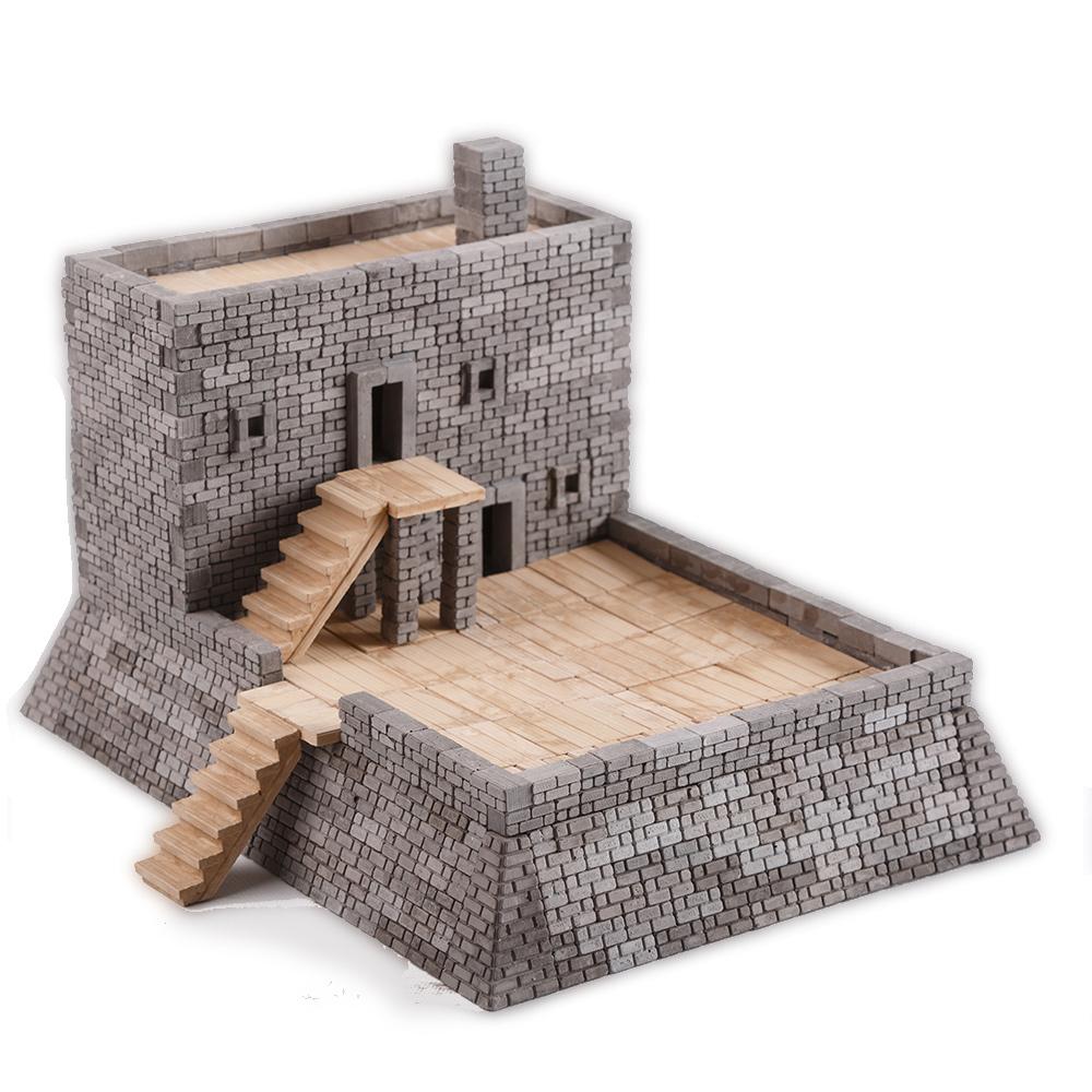 WISE ELK|天然陶瓷磚建築套裝 - 馬坦薩斯堡 1000片