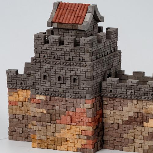 WISE ELK|天然陶瓷磚建築套裝 - 萬里長城 1530片