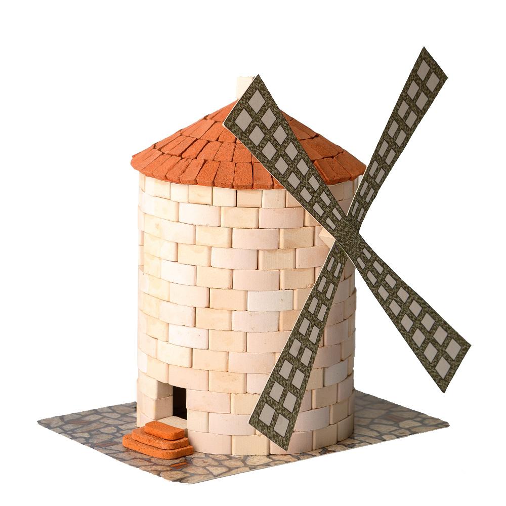 WISE ELK|天然陶瓷磚建築套裝 - 西班牙風車