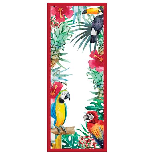 LAGU|沙灘專用快乾防沙毯 (金剛鸚鵡)