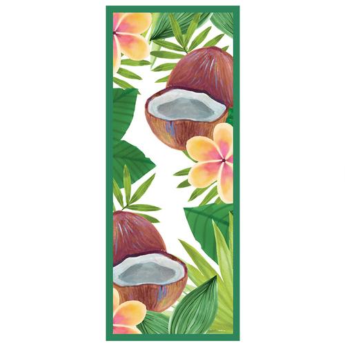LAGU|沙灘專用快乾防沙毯 (夏日椰林)