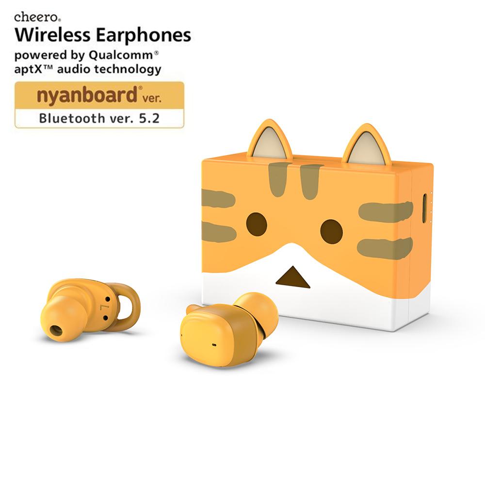 cheero|貓咪阿愣藍牙5.2無線耳機