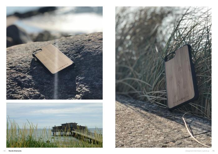 Nordic Elements|iPhone 6 Plus/ 6s Plus/ 7 Plus/ 8 Plus 北歐木材設計手機殼 ・Gefion (淺灰/楓木款)