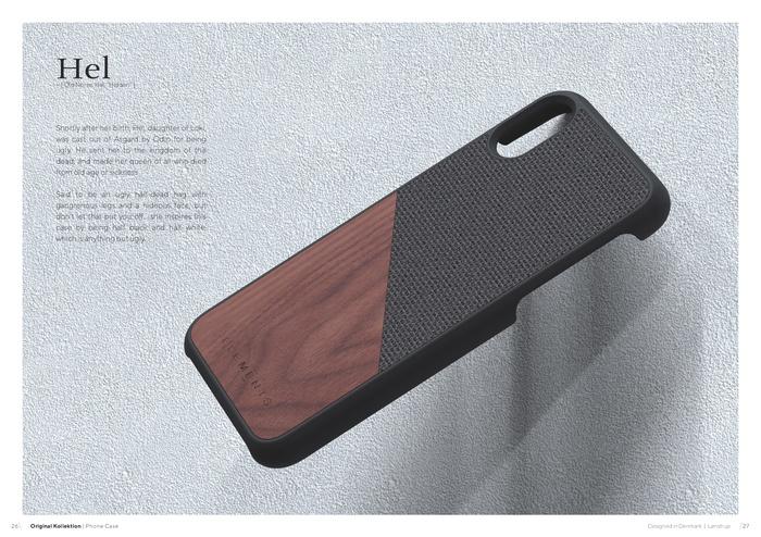 (複製)Nordic Elements|iPhone 6 Plus/6s Plus/7 Plus/8 Plus 北歐木材設計手機殼 ・Gefion (淺灰/楓木)