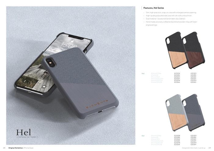 (複製)Nordic Elements iPhone 6 Plus/6s Plus/7 Plus/8 Plus 北歐木材設計手機殼 ・Gefion (淺灰/楓木)