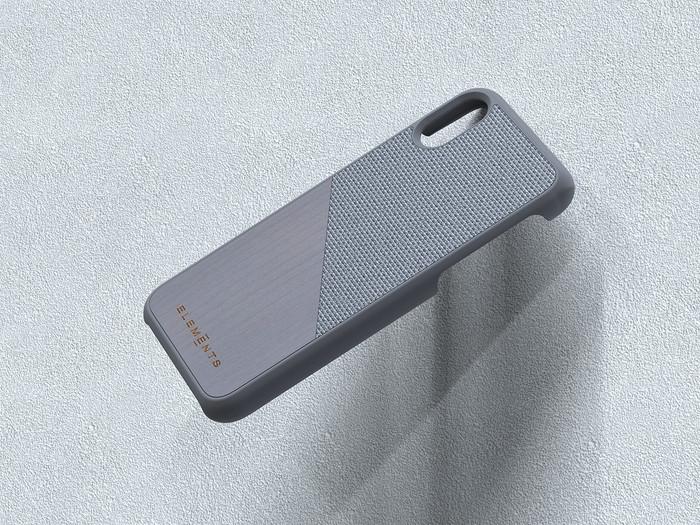 (複製)Nordic Elements|iPhone 北歐雙材質設計手機殼・Hel (淺灰楓木)