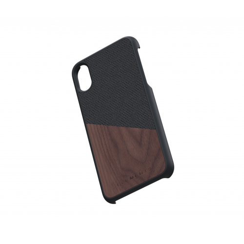 Nordic Elements iPhone 北歐雙材質設計手機殼・Hel (深灰核桃)