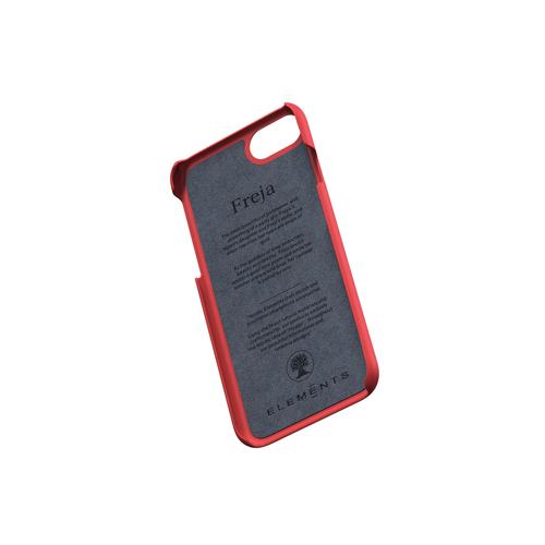Nordic Elements|iPhone 北歐布藝設計手機殼・Freja (紅黑)