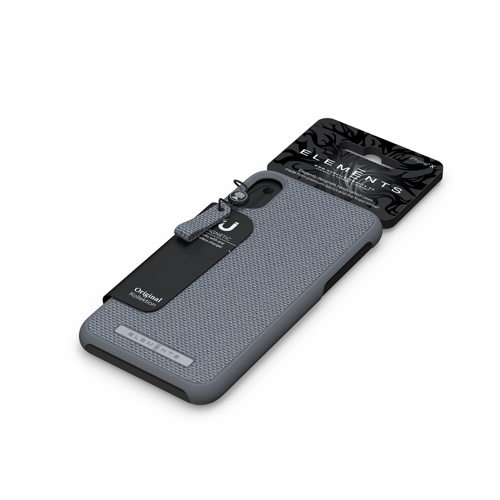 Nordic Elements|iPhone 北歐布藝設計手機殼 ・Idun (中性灰)