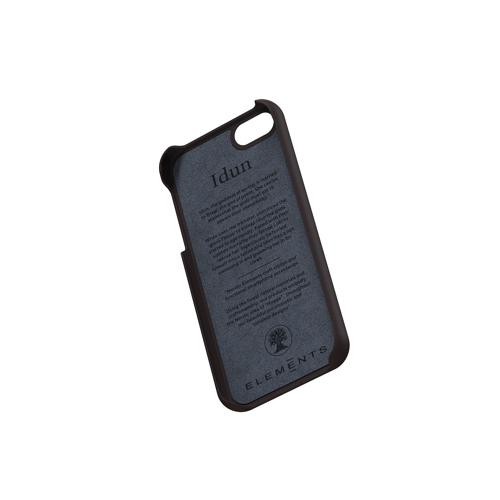 Nordic Elements|iPhone 北歐布藝設計手機殼・Idun (千鳥紋-紅黑)