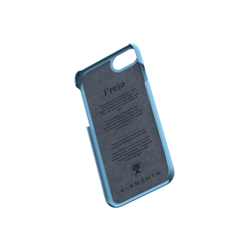 Nordic Elements|iPhone 北歐布藝設計手機殼・Freja (藍綠)