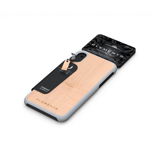 Nordic Elements| iPhone 北歐木材設計手機殼 ・Gefion (楓木)