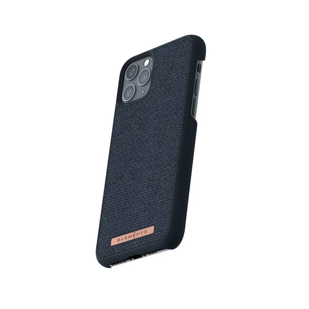 Nordic Elements iPhone 北歐雙材質設計手機殼・Frejr (軍艦藍)