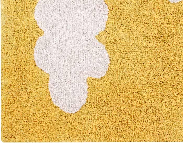 Lorena Canals|雲朵糖霜地毯(芥末黃)