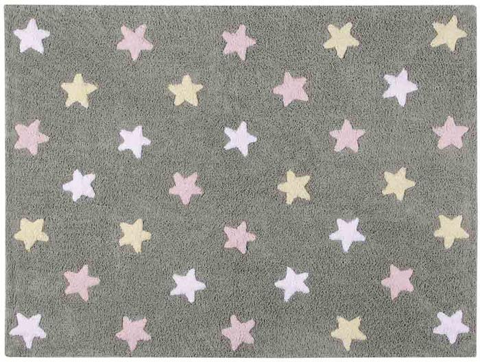 Lorena Canals|小星星合奏曲地毯-銀河三色星(粉)