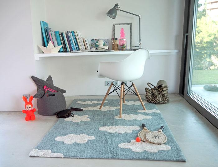 Lorena Canals|雲朵糖霜地毯(復古藍)