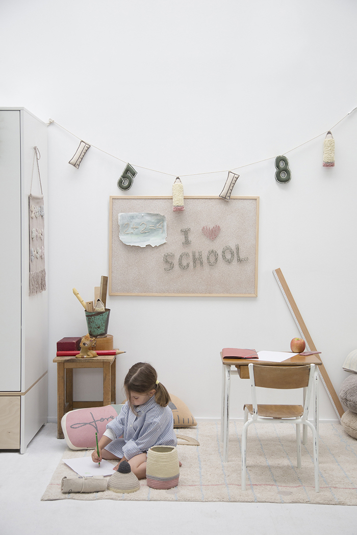 (複製)Lorena Canals|校園時光地毯(數學)