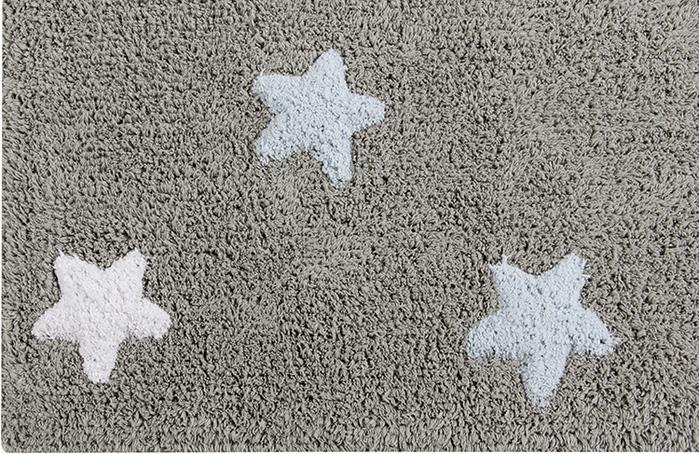 (複製)Lorena Canals 柔麗紡|小星星合奏曲地毯-銀河三色星(粉)