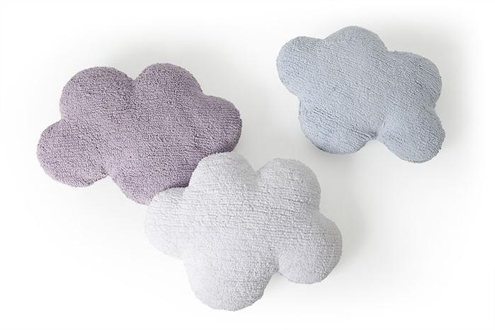(複製)Lorena Canals 柔麗紡|棉花糖雲朵靠枕(黑)